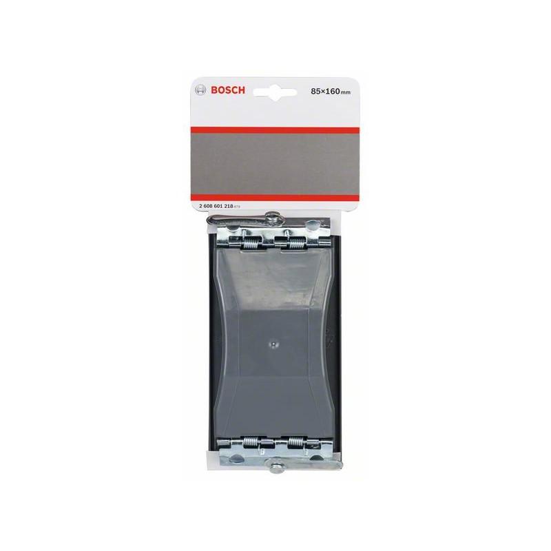 Black 160 x 85 mm Bosch 2608601218 Hand Sanding Block Set